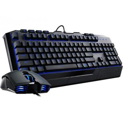 Cooler Master Devastator II - Offre groupée clavier DEL bleues et souris de jeu