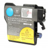 Brother LC61Y Compatible Cyan Ink Cartridge High Yield - 1/Pack