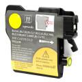 Brother LC61Y cartouche d'encre compatible jaune haute capacité - 1/Paquet